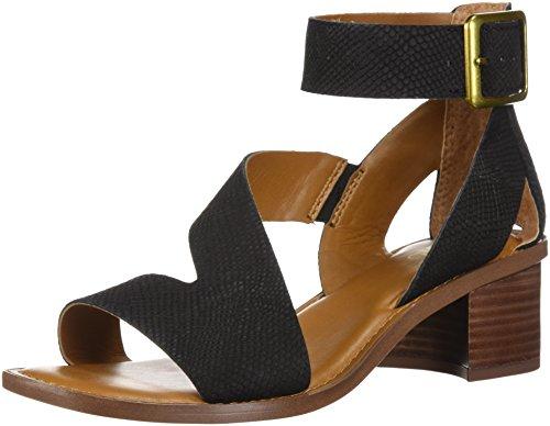 Franco Sarto Women's Lorelia Heeled Sandal Black Gc5xChbBU