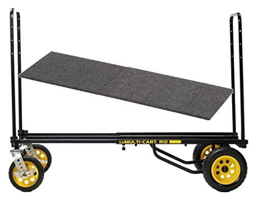 Rock N' Roller Multi Cart R12RT Dolly 500 lb Capacity Hand Truck, R Trac & DECK