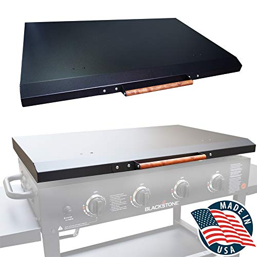 Griddle Cover 36 Inch Hard Lid for Blackstone Cooking Station Hood - Made in USA