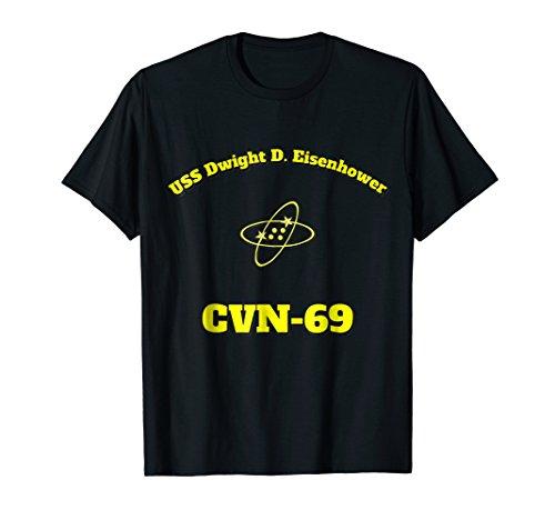 CVN-69 USS Dwight D. Eisenhower Aircraft Carrier ET Shirt ()