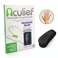 Aculief - Award Winning Natural Headache, Migraine and Tension Relief - Wearable...