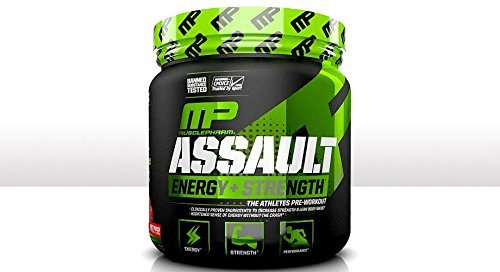 Muscle Pharm Assault Sport Strawberry Ice 30 Serving
