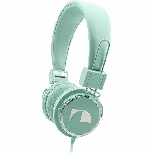 Nakamichi NK850 Fashion Headphones Grayed Jade (Nakamichi Headphones Cord compare prices)