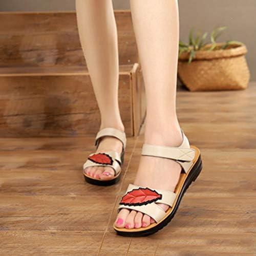 Sandales Femmes Ete Couleur Unie Souple Semelle Heel Slip