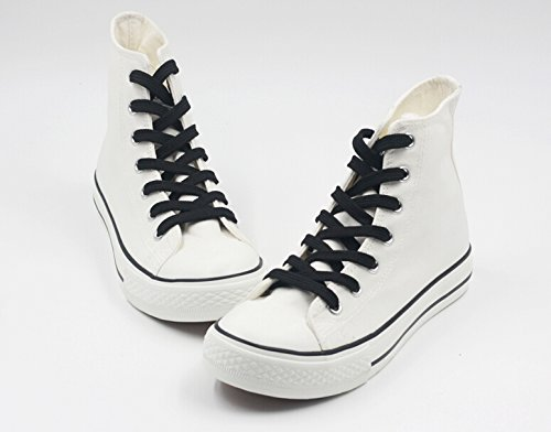 Logo Fairy Anime White Shoes Black Canvas Shoes Sneakers White Cosplay 7 Tail RRHwES