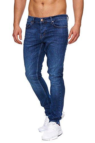 TAZZIO Slim Fit Herren Stretch Jeans Hose Denim J-1001