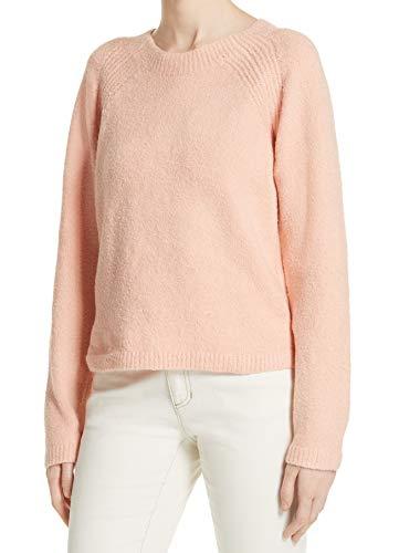 Eileen Fisher Womens Medium Round-Neck Pullover Sweater Pink -