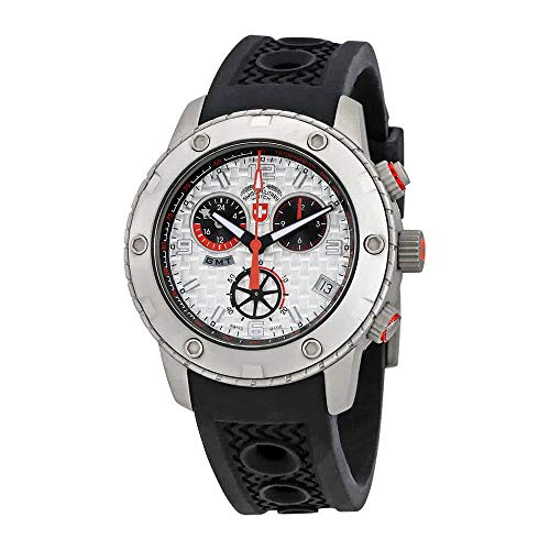 Swiss Military Rallye GMT Chronograph Silver Dial Mens Watch 2745 ()