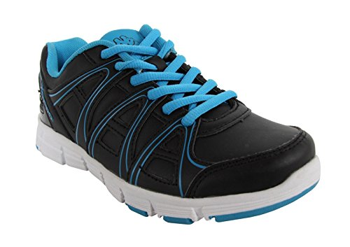 Zapatillas deporte de Niño y Niña KAPPA 302E4L0 ULAKER C35 BLACK-TURQUOISE