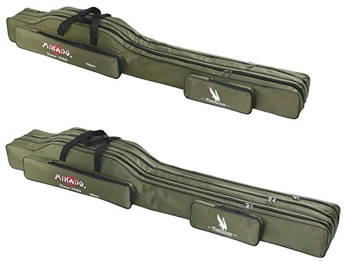 Mikado Rutentasche 2 3 Fächern Rutenfutteral Angeltasche 7 Varianten  1,2-1,6m B07KPFQGW5 Rutentaschen Moderne und stilvolle Mode