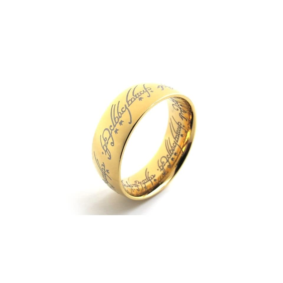 Pr620690 R&d Stainless Steel Ring Mens Ladys Gp Lord of the Rings 10