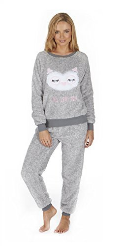 Forever Dreaming Donna due pezzi Grey Owl Pigiama ppzqrw6