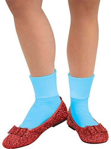 Rubie's Costume Co Wizard of Oz, Deluxe Adult Dorothy Sequin Shoes, Red, Medium