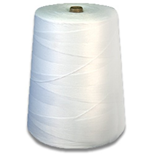 CWC Sewing-Sacking Twine - 5 ply, Cotton Poly Blend (Pack of 4 cones)