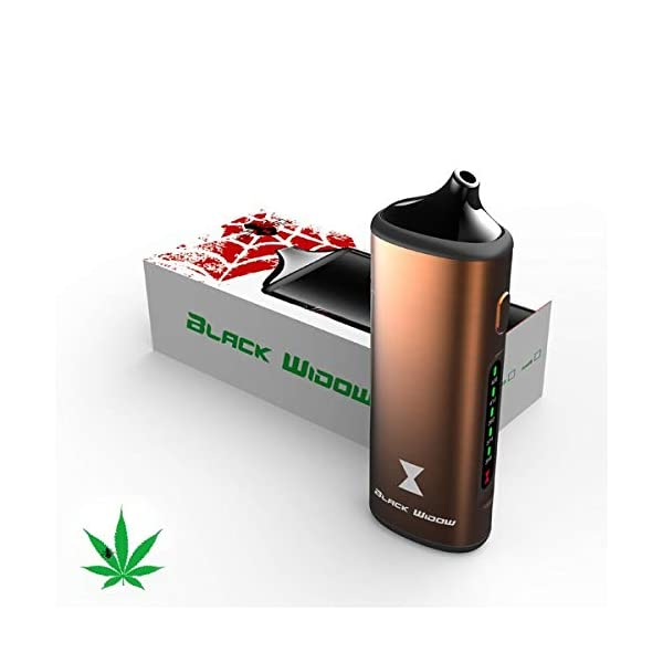 Black Widow Portable Herb and Concentrate Vaporizer Gold
