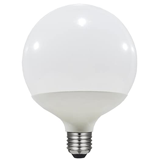 Laes 986402 Bombilla Globe LED E27, 15 W, Blanco 120 x 160 mm