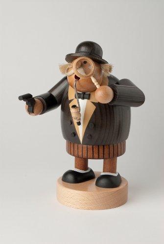 KWO Olbernhau 21682 R/äucherm/ännchen Doktor Watson 18 cm