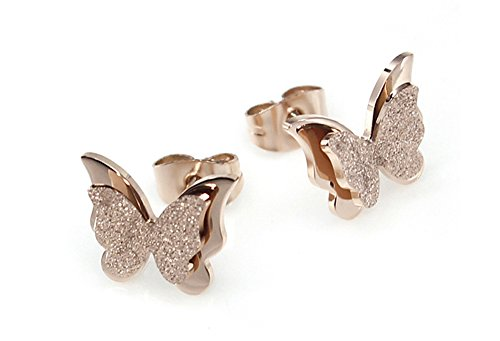 butterfly-rose-gold-plated-stainless-steel-stud-earrings-for-women