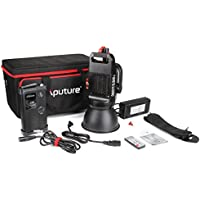 Aputure Light Storm COB 120t CRI97+ TLCI97+ 3000K 135W Bowens Mount High Power LED Continuous Video Light - 18dB Low Noise with 2.4G Remote Control and V-Mount Plate - Carrying Case Included