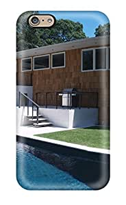 New Arrival DyLayfg1087AfuJa Premium iphone 6 plusd 5.5 Case(modern Home Design With Infinity Edge Pool )