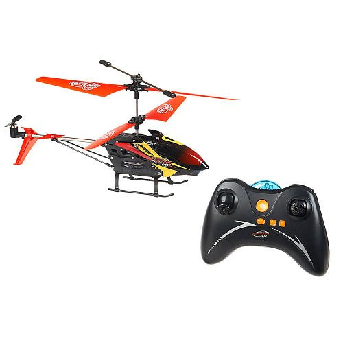 Fast Lane Eagle-1 Radio Control Helicopter - Black/Red