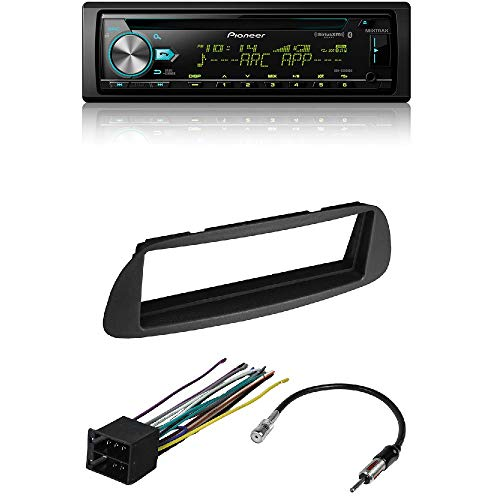 Pioneer DEH-S6000BS CD Receiver with CAR Stereo Radio Dash Installation MOUNTING KIT W/Wiring Harness and Radio Antenna Adapter for Dodge Sprinter 2003-2006
