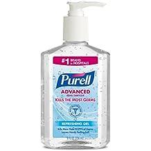 Purell Advanced Hand Sanitizer Refreshing Gel 8 oz (Pack of 12)