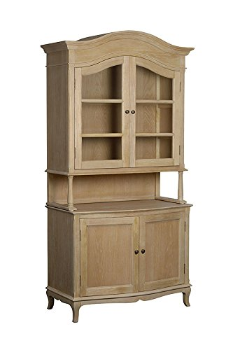 My-Furniture Les MILLES - Credenza Anticata in Rovere Massiccio e in ...