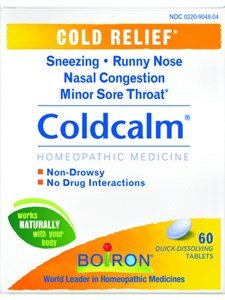 Boiron Coldcalm Quick-Dissolving Tablets 60 Tablets (Pack of 6) by Boiron
