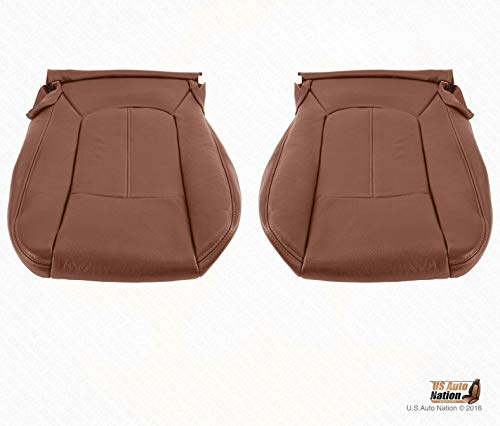 US Auto Nation 2011-2014 Ford F350 King Ranch Driver-Passenger Bottom Cover Perforated Leather