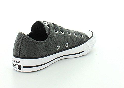 Converse Chuck Taylor All Star Mín Jersey acolchada de la zapatilla de deporte Thunder/White/Black