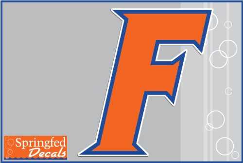 Florida Gators ORANGE BLOCK F Logo 4