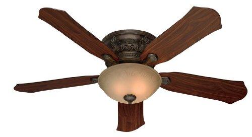 Hunter HR21322 52-in Low Profile Roman Bronze Ceiling Fan Review