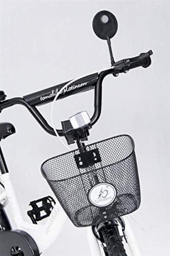 Kinderfahrrad TC 18 Zoll Platinum Weiß Special Design für Kinder ab 5 Jahren mit Stützrädern