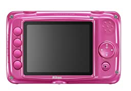 Nikon COOLPIX S30 10.1 MP Digital Camera with 3x Zoom Nikkor Glass Lens and 2.7-inch LCD (Pink)