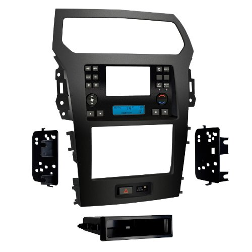(Metra 99-5828CH Single DIN and Double DIN Dash Installation Kit for 2011-UP Ford Explorer with factory 4.3-Inch Screen)