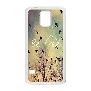 Be Free Classic Personalized Phone Case for SamSung Galaxy S5 I9600,custom cover case ygtg579923
