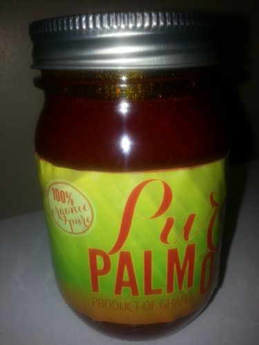 100% Organic Pure All Natural Red Palm Oil 16oz