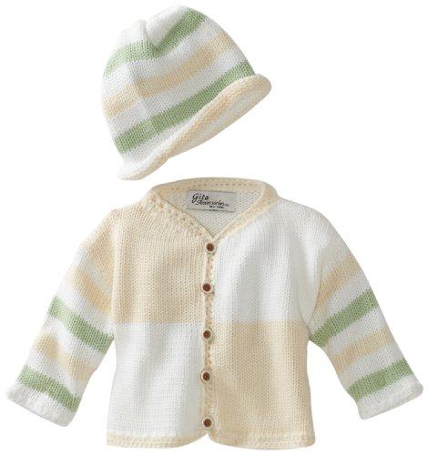 Gita Accessories Unisex-Baby Newborn Sweater And Hat Set