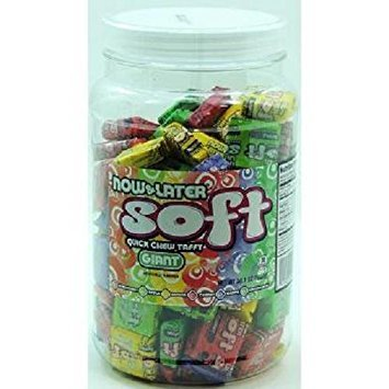 NOW&LATER SOFT GIANT ASSORTED- Jar ( 120 in a Pack )