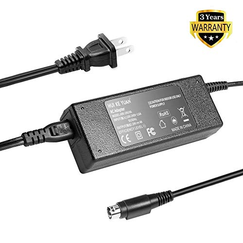 TFDirect NEW 3 Pin AC/DC Adapter for Resmed S9 Series Res Med IPX1 CPAP Machine S9 H5i REF 36003 R360-760 DA-90A24 CPAP 36970 S9 Elite Machine S9 Escape Machines 24V 4A 96W Power Supply Cord Charger