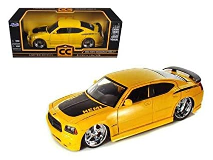 Amazon com: 2006 Dodge Charger Daytona R/T Yellow Color with