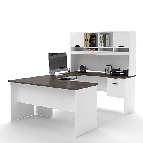 Innova Compact U Desk Dimensions: 59.75'W x...