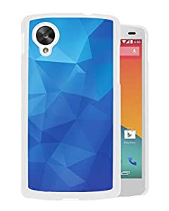 Polygon Blue (2) Google Nexus 5 Phone Case On Sale