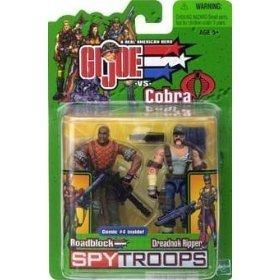 Gi Joe 3 3/4 Roadblock & Dreadnok Ripper 2 Pack Spytroops ()
