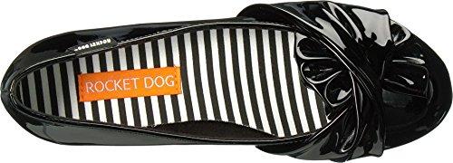Raket Hond Womens Riskant Zwart Patent