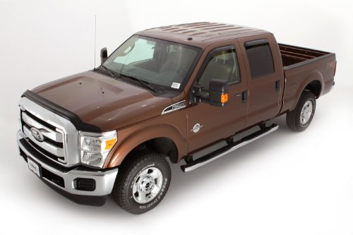 Auto Ventshade 25062 Bugflector Dark Smoke Hood Shield for 2011-2016 Ford F-250, F-350, F-450, F-550