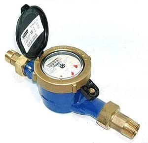 Arad estándar Contador de agua fría - 3/4 bspm: Amazon.es