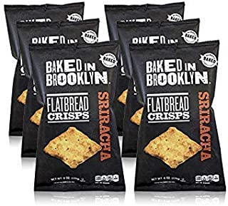product image for Baked In Brooklyn Flatbread Crisps Sriracha 6 oz (pack of 6)