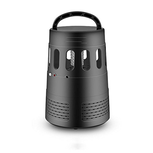 SunYiXin Mosquito killing lamp,household electronic mosquito killer,intelligent light control,quiet,radiation free portable,black